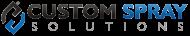 Custom Spray Solutions Logo