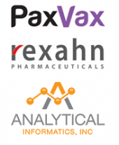 PaxVax, Rexahn, and Analytical Informatics